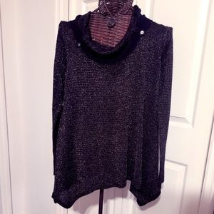 Nine West  Oversized Sweater with Cowl
